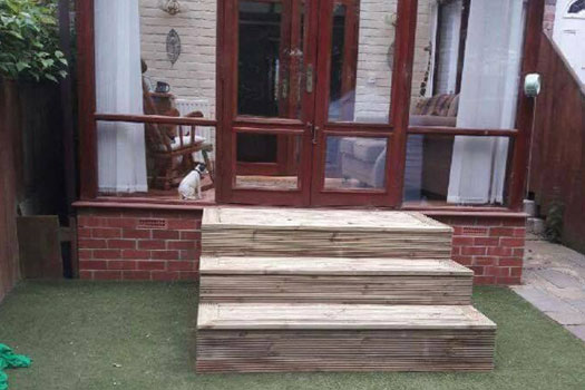 Decking Services Newcastle