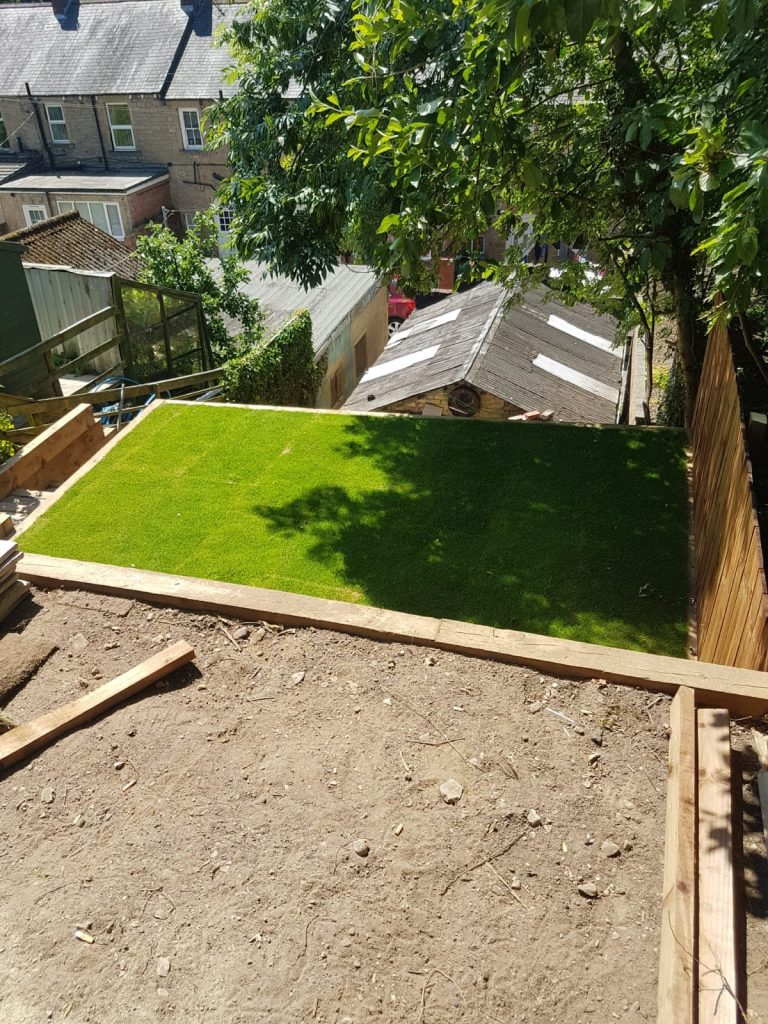 Landscape Project with Green Grass in jesmond